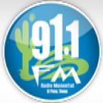 Logo da emissora KVER 91.1 FM
