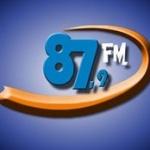 Logo da emissora R�dio Quiterian�polis 87.9 FM