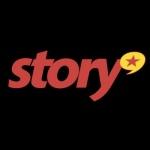 Logo da emissora Story FM