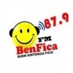 Logo da emissora Rádio Benfica 87.9 FM