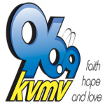 Logo da emissora KVMV 97 FM