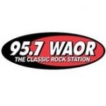 Logo da emissora WAOR 95.3 FM
