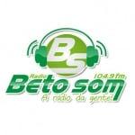 Logo da emissora R�dio Beto Som 104.9 FM