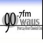 Logo da emissora WAUS 90.7 FM