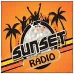 Logo da emissora R�dio Sunset