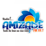 Logo da emissora Radio Amizade FM 88.7