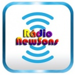 Logo da emissora Rádio NewSons