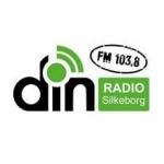 Logo da emissora Din Radio Silkeborg 103.8 FM