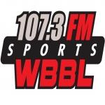 Logo da emissora WBBL 107.3 FM