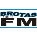 Logo da emissora R�dio Brotas 105.9 FM