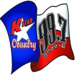 Logo da emissora KVST 99.7 FM