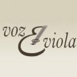 Logo da emissora Webrádio Voz & Viola