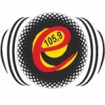 Logo da emissora Rádio Eldorado 105.9 FM