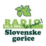 Logo da emissora Radio Slovenske Gorice 96.4 FM