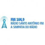 Logo da emissora Rádio Santo Antônio 104.9 FM