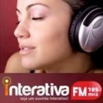 Logo da emissora Rádio Interativa 105.5 FM