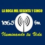 Logo da emissora Radio Laroca 106.5 FM