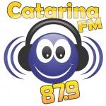 Logo da emissora Rádio Catarina 87.9 FM