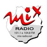 Logo da emissora Mix Radio 101.1 FM