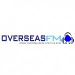 Logo da emissora Overseas 105.4 FM