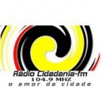 Logo da emissora Rádio Cidadania 104.9 FM