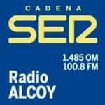 Logo da emissora Radio Alcoy 100.8 FM