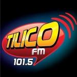 Logo da emissora R�dio Tilico 101.5 FM