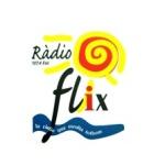 Logo da emissora Ràdio Flix 107.4 FM