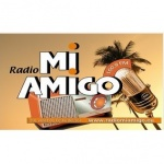 Logo da emissora Radio Mi Amigo 107.1 FM