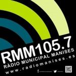 Logo da emissora Rádio Municipal Manises 105.7 FM