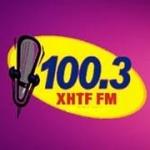 Logo da emissora Estereo Tiempo 100.3 FM