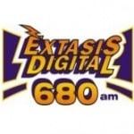 Logo da emissora Radio Extasis Digital 680 AM