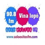 Logo da emissora Solo Exitos 90.8 FM