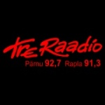 Logo da emissora Tre Raadio 91.3 FM