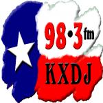 Logo da emissora KXDJ 98.3 FM