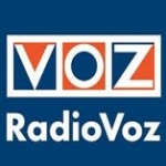 Logo da emissora Radio A Voz FM 103.8