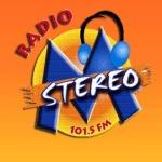Logo da emissora Radio Stereo M 101.5 FM