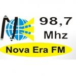 Logo da emissora Radio Nova Era FM 98.7