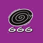 Logo da emissora Radio 666 99.1 FM