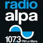 Logo da emissora Radio ALPA 107.3 FM