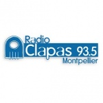 Logo da emissora Radio Clapas 93.5 FM