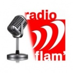 Logo da emissora Radio Flam' 90.6 FM