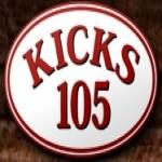 Logo da emissora KYKS 105.1 FM