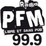 Logo da emissora Radio PFM 99.9 FM