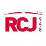 Logo da emissora Radio RCJ 94.8 FM