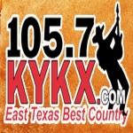 Logo da emissora KYKX 105.7 FM
