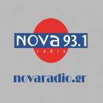 Logo da emissora Nova Radio 93.1 FM