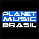 Logo da emissora Planet Music Brasil