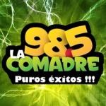 Logo da emissora La Comadre 98.5 FM