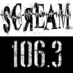 Logo da emissora Scream 106.3 FM